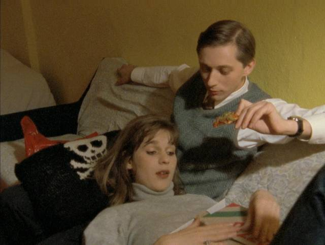 Monika and Mark (Mark Reeder)'s relationship takes a dark turn in Jörg Buttgereit's Nekromantik 2 (1991)