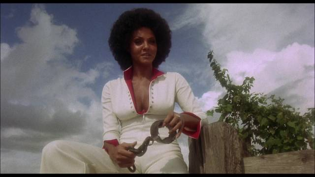 "Diane ""Sugar"" Hill (Marki Bey) uses voodoo to get revenge in Paul Maslansky's Sugar Hill (1974)"