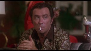 Robert Quarry as sleazy gangster Morgan in Paul Maslansky's Sugar Hill (1974)