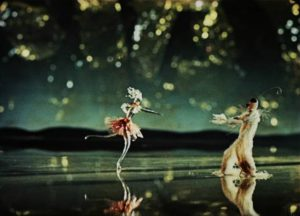 A glass figurine dances in Karel Zeman's exquisite Inspiration (1949)