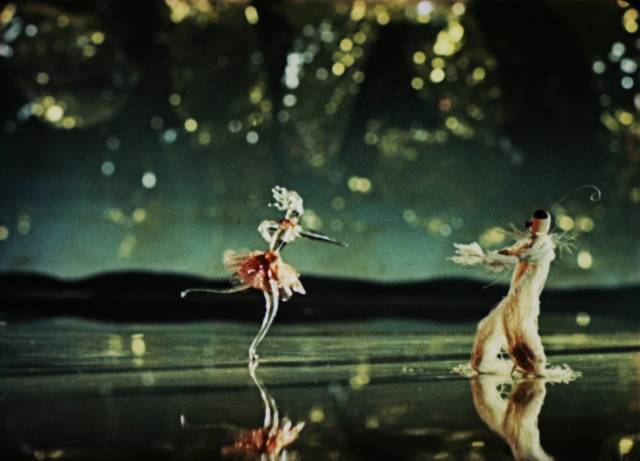 A glass figurine dances in Karel Zeman's exquisite Inspiration (1949)