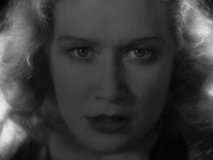 Miriam Hopkins fights against the constraints imposed by her social position in Stephen Roberts' The Story of Temple Drake (1933)