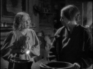 Ruby (Florence Eldridge) attempts to protect Temple (Miriam Hopkjins) despite her disdain for the girl in Stephen Roberts' The Story of Temple Drake (1933)