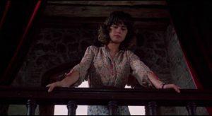 Maria Scheider remains enigmatic in Michelangelo Antonioni's existential thriller The Passenger (1975)