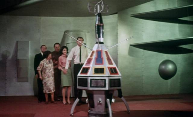 It's like Carry On In Space in Montgomery Tully's The Terrornauts (1967)