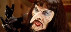 Angelica Huston revels in evil as the Grand High Witch in Nicolas Roeg's The Witches (1990)