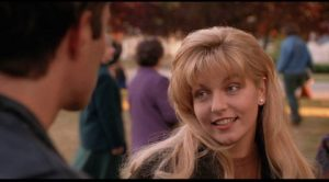 Cheryl Lee as the ill-fated Laura Palmer in David Lynch's Twin Peaks: Fire Walk With Me (1992)