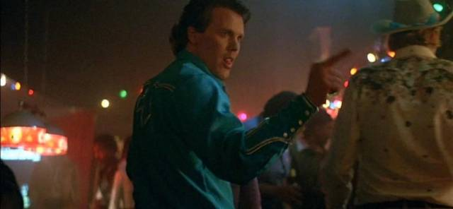 Wings Hauser as the psycho pimp in Gary Sherman's Vice Squad (1982)