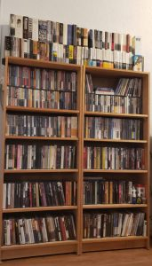 Here's my Criterion Collection collection