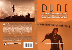 BearManor Media cover for Dune: The David Lynch Files Volume 2