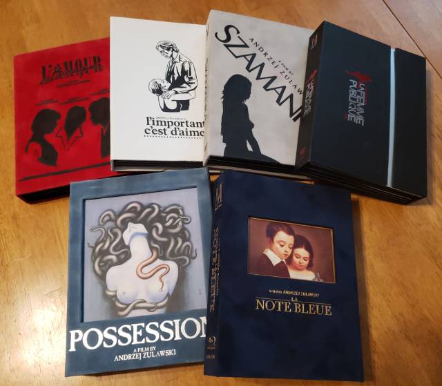 Mondo Vision's deluxe releases of Andrzej Zulawski's movies