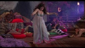 Tara Nicole Steele (Holly Near) embraces hedonism in Robert Thom's Cult of the Damned (1969)