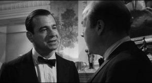 Walter Matthau as the hawkish national security advisor Dr. Groeteschele in Sidney Lumet's Fail-Safe (1964)