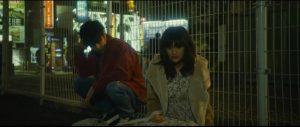 Leo (Masataka Kubota) and Monica (Sakurako Konishi) meet by chance in Takashi Miike's First Love (2019)