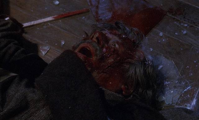 Something nasty is hanging around the old homestead in Claudio Fragasso's Monster Dog (1985)