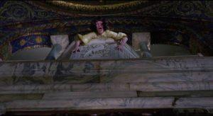 Abandonment triggers suicidal despair in Cenci (Mia Farrow) in Joseph Losey's Secret Ceremony (1968)