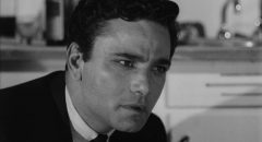 Peter Falk in his first starring role as Nico in Julian Roffman's The Bloody Brood (1959)