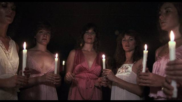 Sorority mean girls plan to torment fresh pledges in Larry Stewart's The Initiation (1984)