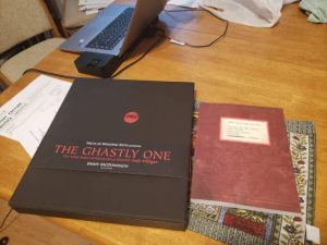 FAB Press' limited edition of Jimmy McDonough's The Ghastly One, with a bonus book of Andy's screenplays