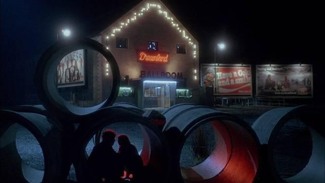 A quiet moment before musician Danny (Stephen Rea) witnesses murder in Neil Jordan's Angel (1982)