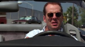 Bruce Willis as a troubled psychologist in Richard Rush's Color of Night (1994)