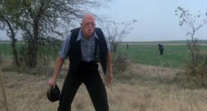 Michael Berryman does bad things for his religion in Wes Craven's Deadly Blessing (1981)