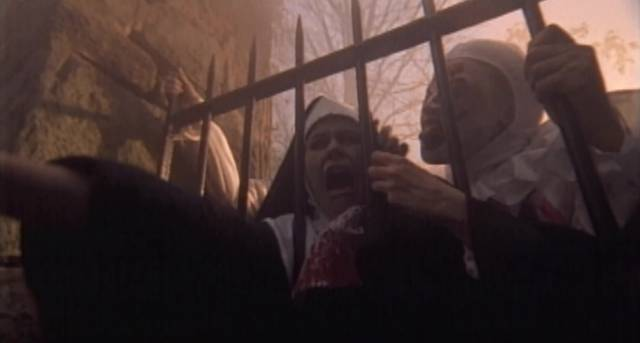 Nuns from Hell in Dante Tomaselli's Desecration (1999)