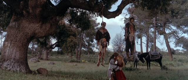 Nice spot for a romantic tryst in Paul Verhoeven's Flesh+Blood (1985)
