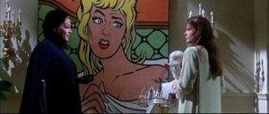 Con artist Lisa Schindler (Simone Signoret) draws Jennifer (Katherine Ross) in in Curtis Harrington's Games (1967)