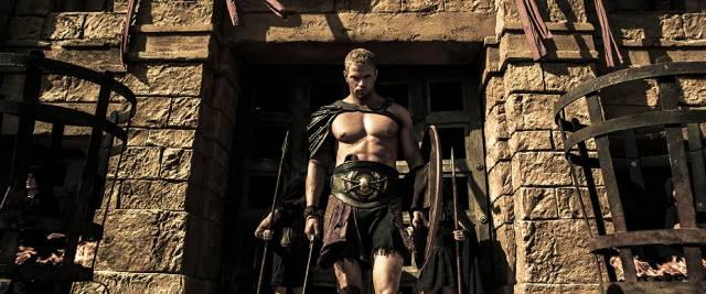 Kellan Lutz embraces his half-god nature in Renny Harlin's The Legend of Hercules (2013)