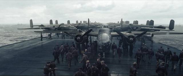Preparing for the Doolittle Raid in Roland Emmerich's Midway (2019)