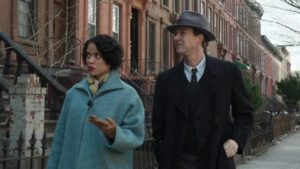 Gugu Mbatha-Raw and Edward Norton uncover political corruption in 1950s NYC in Norton's Motherless Brooklyn (2019)