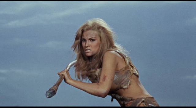 Typical prehistoric woman: Raquel Welch in Don Chaffey's One Million Years B.C. (1966)
