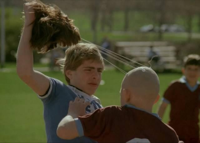 Michael (Matthew Mackay) is cruelly mocked in Michael Rubbo's The Peanut Butter Solution (1985)