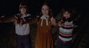 Radiation makes kids dangerous to their parents in Max Kalmanowicz's The Children (1980)