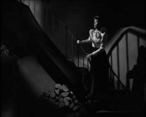 Dorothy McGuire is menaced by a serial killer in Robert Siodmak's The Spiral Staircase (1946)