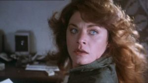 Mystery novelist Meg Foster is stalked by a killer in Nico Mastorakis' The Wind (1986)