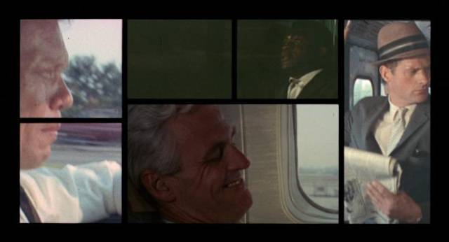 Split-screen, an innovation that once seemed like a good idea in Norman Jewison's The Thomas Crown Affair (1968)