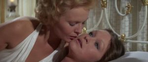 Ruth Miller (Jean Seberg) tries to get through to her stepdaughter Marisol) in Juan Antonio Bardem's The Corruption of Chris Miller (1973)