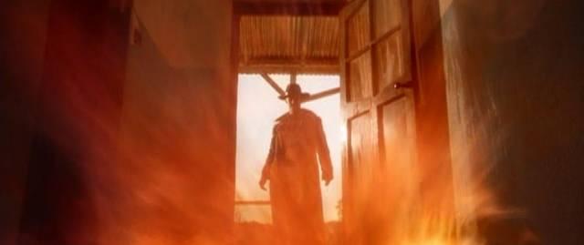 A serial-killing demon stalks the backroads of Namibia in Richard Stanley's Dust Devil (1992)