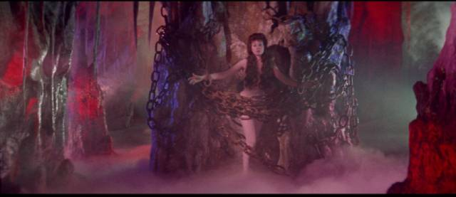 Hades has crazy decor in Mario Bava's Hercules in the Haunted World (1961)