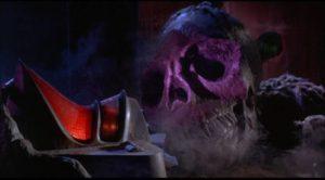The dead alien pilot in Mario Bava's Planet of the Vampires (1965)
