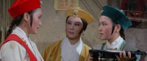 The inn's staff of formidable warrior-waitresses in The Fate of Lee Khan (1973)