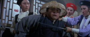 The waitresses deal with troublesome inn customers in King Hu's The Fate of Lee Khan (1973)