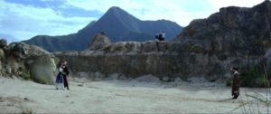 The final deadly battle in the desert in King Hu's The Fate of Lee Khan (1973)