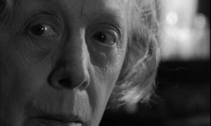 Mrs Ross (Edith Evans) lives in a world beset by forces beyond her control in Bryan Forbes' The Whisperers (1967)