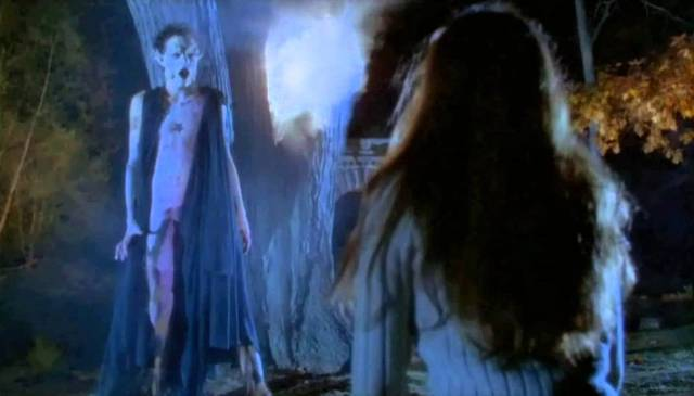 Andrew Williams (Stefan Arngrim) is confronted an Archangel sent to stop him in Frank LaLoggia's Fear No Evil (1981)