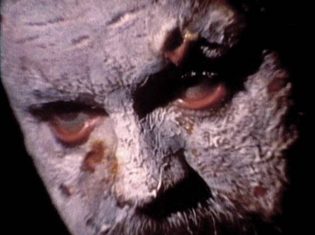 Eric Longfellow (Don Leifert), a corpse reanimated by an evil spirit in Don Dohler's Fiend (1980)