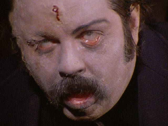 Eric Longfellow (Don Leifert) needs a quick fix in Don Dohler's Fiend (1980)