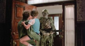 ... but Roger Cobb (William Katt) manages to rescue his son from the other realm in Steve Miner's House (1985)